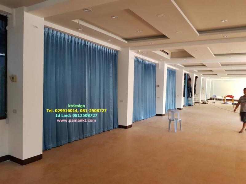รับติดผ้าม่าน ม่านม้วน ม่านปรับแสง มู่ลี่ 0812508727